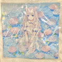 【YUtuKI/明晰夢】ハンカチ 紫陽花