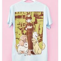 【OMOCAT】DOG Pocket T-Shirt