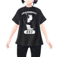 【VRoid用テクスチャ】白子まり カレッジTシャツ