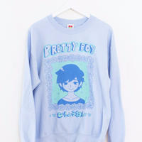【OMOCAT】PRETTYBOY Sweater  BLUE