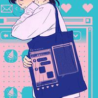 【宇宙サマー】CHAT BOX TOTE