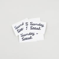 Sunday Steak / ロゴステッカー(A)