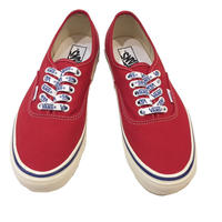 """VANS """"AUTHENTIC DX44(ANAHEIM FACTORY COLLECTION)"""" RED"""
