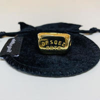 """OHTHEGUILT """"DF.SQEZ 012 RING"""" (ブラス 真鍮製)"""