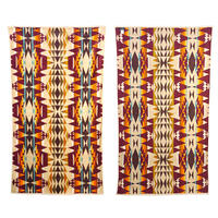 "Pendleton ""OVERSIZED JACQUARD TOWEL"" Cresent Buttle"