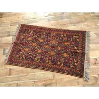 vintage hand made rug