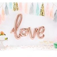 【レターフレーズバルーン】LOVEスクリプト/ローズゴールド [BM0102-01287]