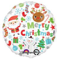 メリークリスマスアイコンズ ヘリウムガス無し Anagram [BF0501-29392]