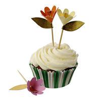 【MeriMeri】カップケーキキット/FANCY FLOWERS [MM0206-45-1149]