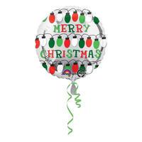 シルバーバルーン クリスマス ヘリウムガス無し Anagram [BF0501-27237]