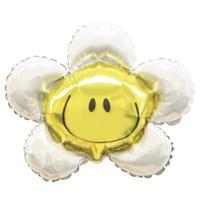 【スティックバルーン】スマイリーフラワーブランカ[BS0402-34996]