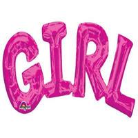 【Anagram】ガール GIRL ピンク [BM0101-33097]