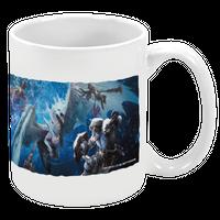『モンハン酒場』オリジナルマグカップ (ビジュアル)