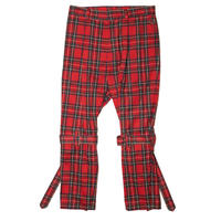 BELTED BONDAGE TROUSERS(RED)