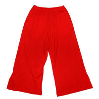 WAFFLE SUPERWIDE TROUSERS(RED)
