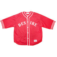 WOOL BASEBALL TOP 'GENTLEMAN (RED)
