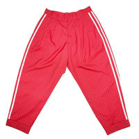 WOOL BASEBALL TROUSERS 'GENTLEMAN (RED)