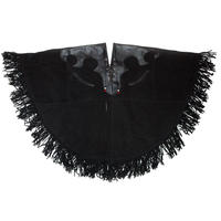 SUEDE PONCHO 'SLY