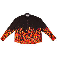OVERSIZED WESTERN SHIRT 'FLAME