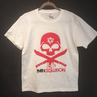 PAIN SOLUTION(ペインソリューション)Tシャツ/バニラホワイト