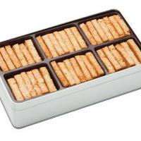塩味のクッキー缶  (34-36枚入り)