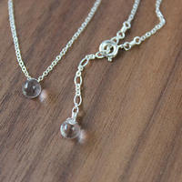 HARRYS・droplet necklace(SV925)
