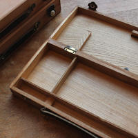 木製の絵の具箱