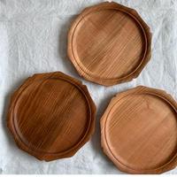 まつもと工作室・木製輪花皿(19cm)サクラ