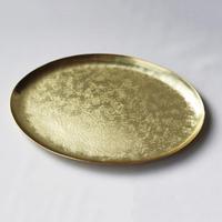 WATO)真鍮のオーバルプレート コッペ