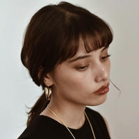 Gold Pipe Hoops