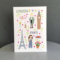 PARIS / LONDON notebook | Cristina de Lera