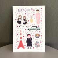 TOKYO card | Cristina de Lera