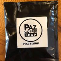 コーヒーバッグ PAZ Natural Blend (6個入り)発送可