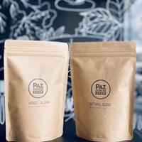 コーヒー豆セット (PAZ Natural Blend & PAZ Honey Blend)