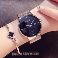 Gimto ファッションレディース腕時計 ローズゴールド 女性腕時計 エレガント ラインストーン 防水 129