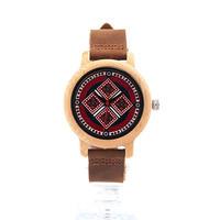 ボボ鳥 ブランド女性竹腕時計 レディース腕時計 女性レディクォーツ時計 191