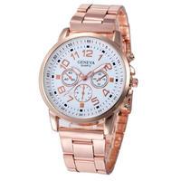 モンタフェムブレスレット ローズ腕時計 女性高級ブランドジュネーブ腕時計 女性クォーツ時間アナログ腕時計 173