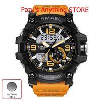 メンズ スポーツデジタル腕時計 防水時計 ブルー Led 腕時計 1708