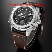 男性 防水 ミリタリースポーツ腕時計 メンズクォーツアナログ腕時計 1691
