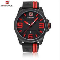 Naviforce 腕時計メンズスポーツクォーツ腕時計 カジュアル腕時計 アナログ男性時計 60