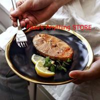 10インチ プレート皿 黒食器プレート キッチン 1553