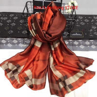 チェック柄 スカーフ 婦人スカーフ 1629