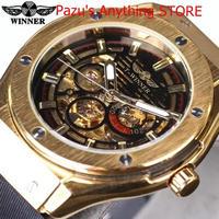 ゴールデンメタルシリーズ 男性腕時計 高級腕時計 機械式スケルトン男性腕時計 1710