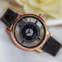 クォーツ腕時計 リロイシンプルレザーバックル ビジネスカジュアル腕時計 107