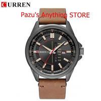 腕時計 メンズミリタリークォーツ腕時計 メンズ腕時計 高級革スポーツ腕時計 1709 9/25