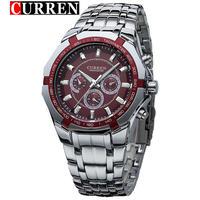 カレン 高級ブランド ミリタリースポーツ腕時計 デジタルクォーツスチールウォッチ時計 33