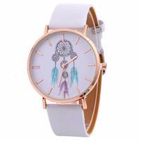 ファッション女性腕時計 ギフト風鈴柄 女の子 クォーツ腕時計 カウボーイ 148