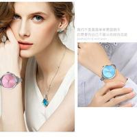 CMK ヨーロッパスタイルレディース腕時計 ステンレス鋼エレガントダイヤル女性腕時計 カジュアルドレス 123