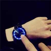 Saati 防水Led腕時計 ユニセックス スマートエレクトロニクス腕時計 メンズ腕時計 トップブランド 66