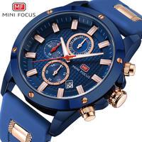 Minifocus 2018メンズファッションスポーツ腕時計 クォーツアナログ時計 軍事防水時計 レロジオ 13